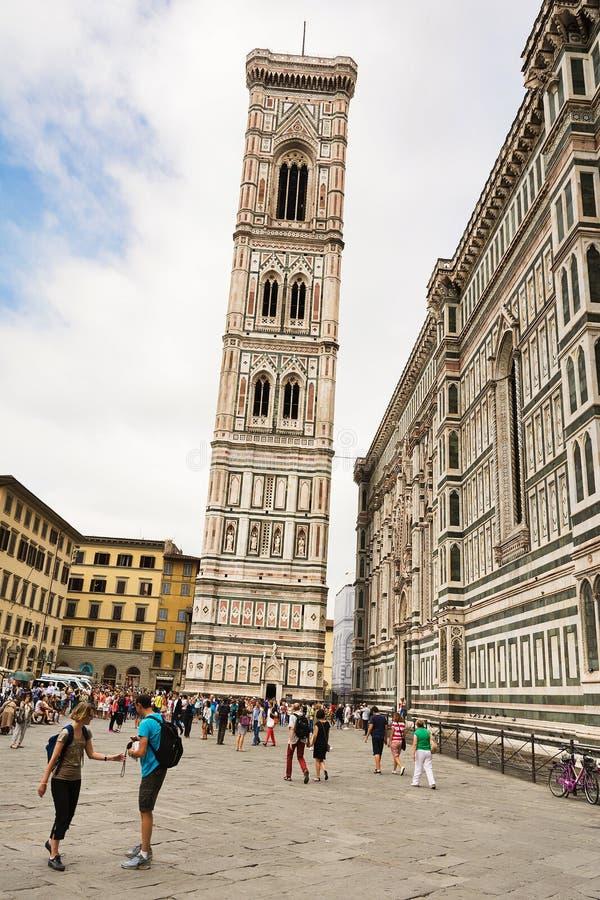 Torre de alarma de Giotto imagen de archivo