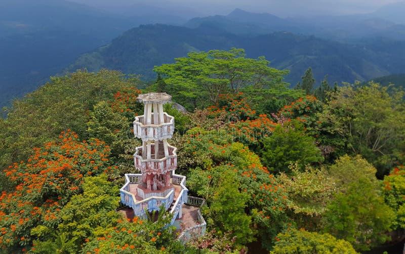 Torre de Ambuluwawa en Gampola fotos de archivo libres de regalías