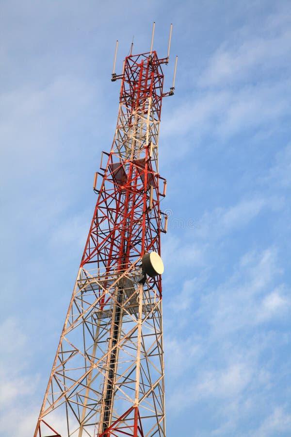 Torre De Antena De Rádio Imagens de Stock