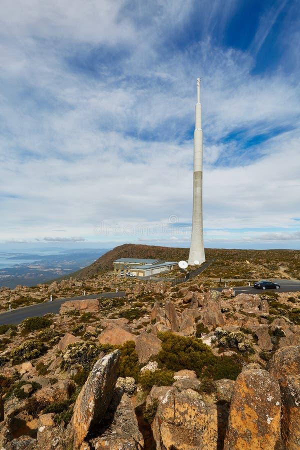 Torre de antena de transmisor foto de archivo
