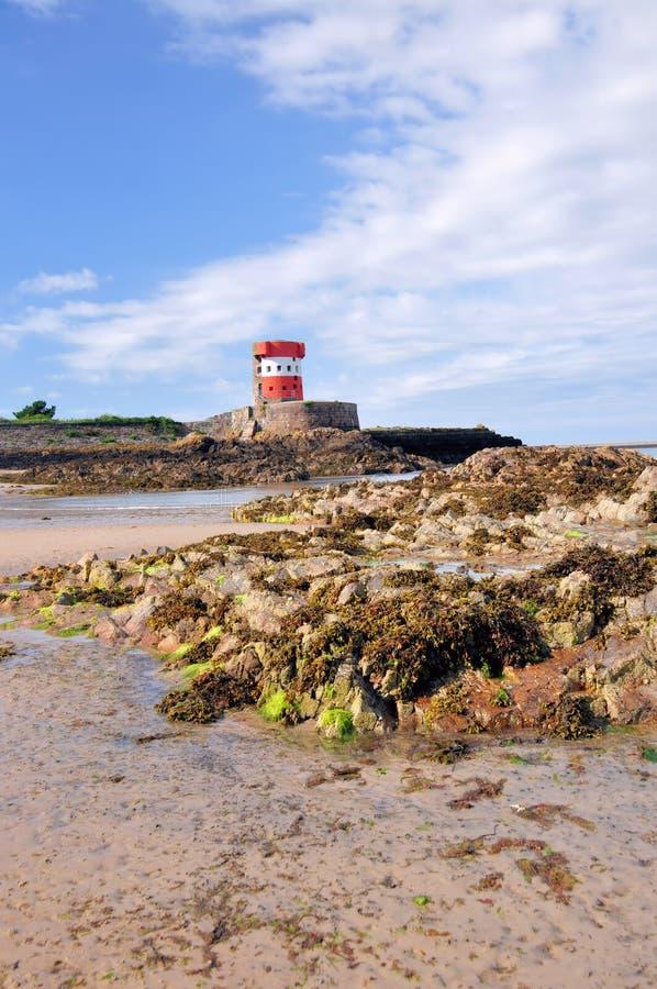 Torre de Archirondel, Jersey C.I fotos de stock royalty free