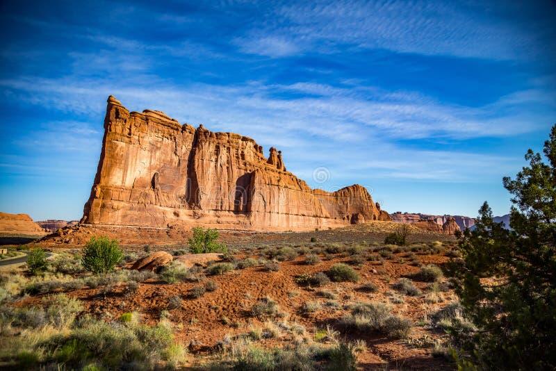 Torre de Babel Arches National Park imagem de stock royalty free