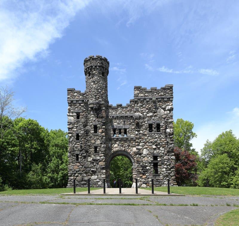 Torre de Bancroft no parque de Salisb?ria, Massachusetts fotografia de stock royalty free