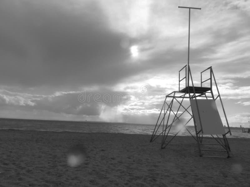 Torre de Baywatch foto de archivo libre de regalías