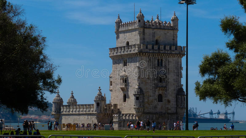 Torre De belém/Belem wierza fotografia stock