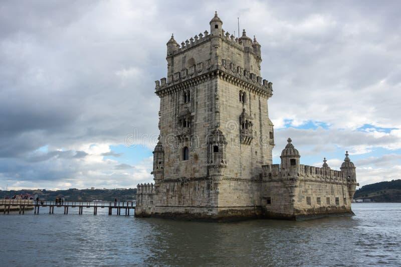 Torre de Belém em Lisboa imagem de stock