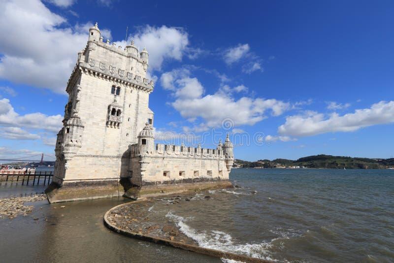 Torre De Belem lizenzfreie stockfotos