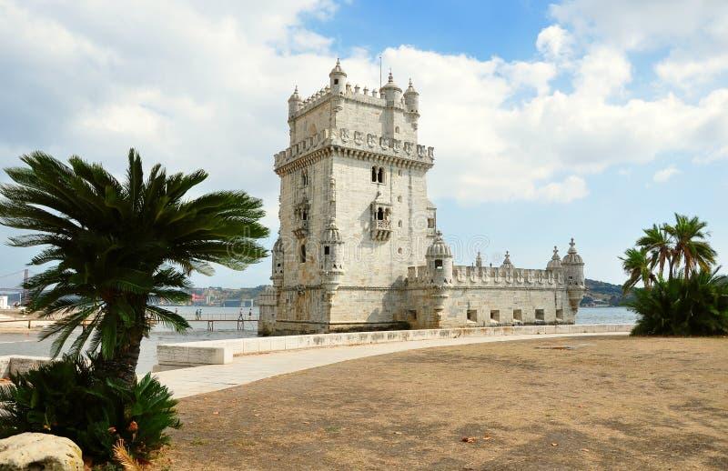 Torre de Belem en Lisboa imagen de archivo