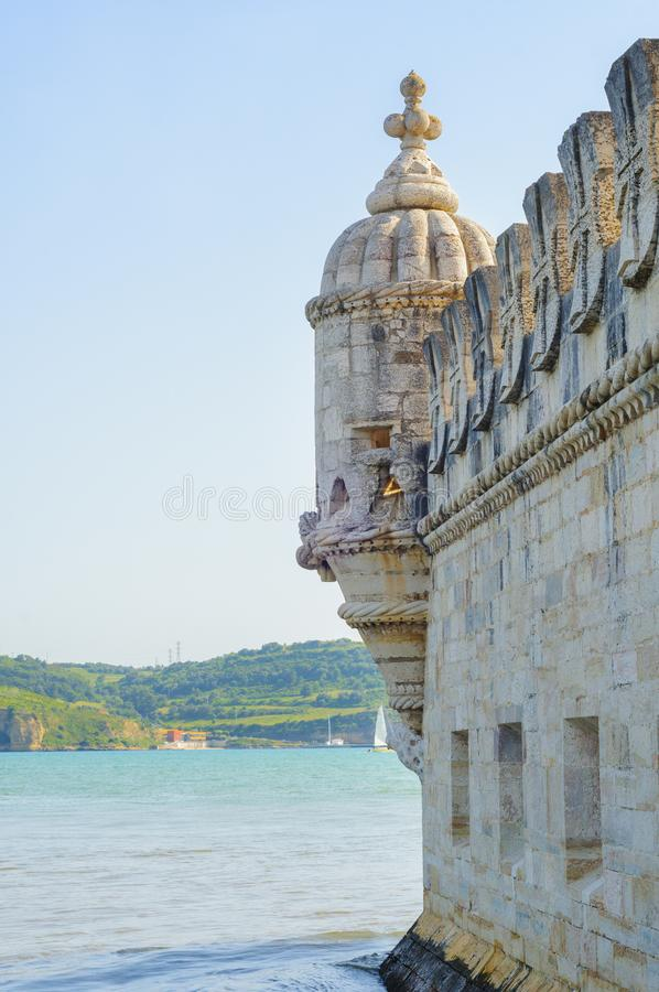Torre de Belem - torre en Lisboa, Portugal fotos de archivo