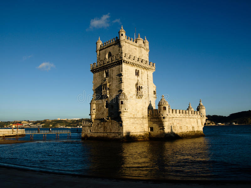 Torre de Belem - Lisboa - Portugal imagen de archivo libre de regalías