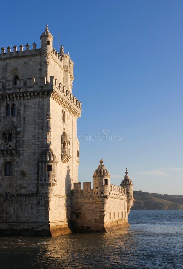 Torre DE Belem, Lissabon stock foto