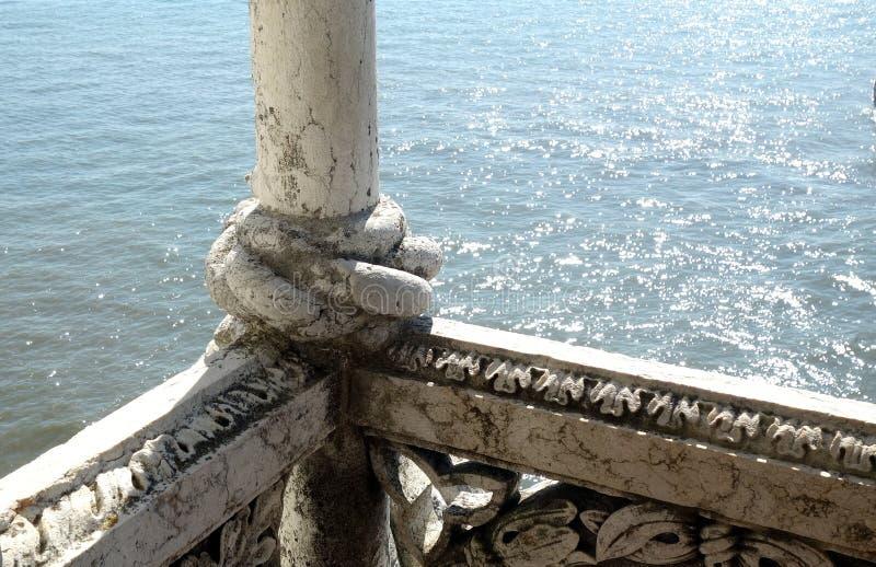 Torre de Belem Tower, Lisbon royalty free stock photography
