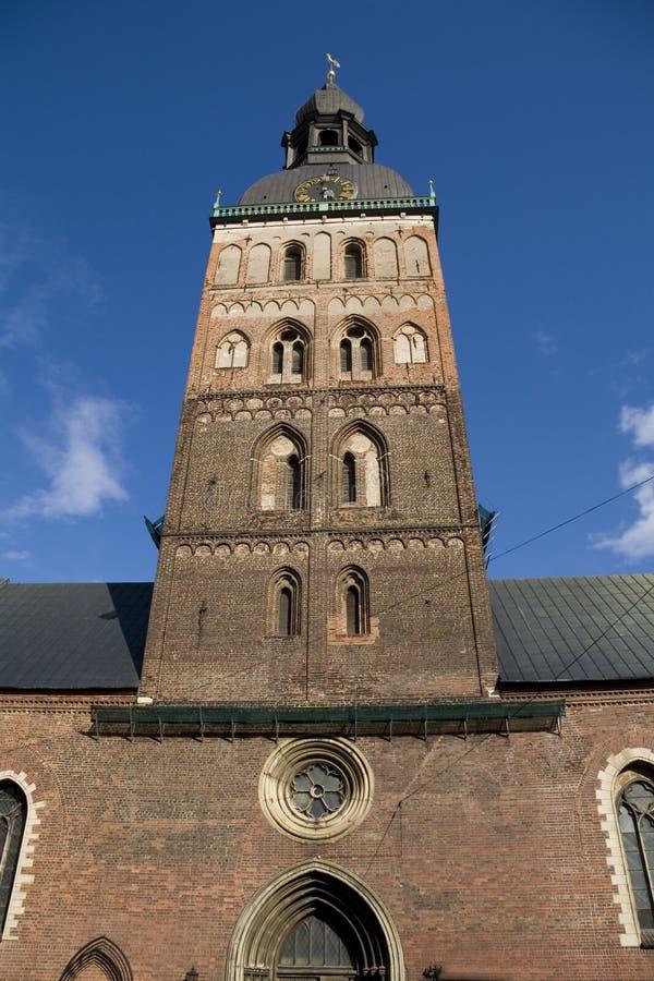 Torre de Bell da abóbada de Riga imagens de stock royalty free