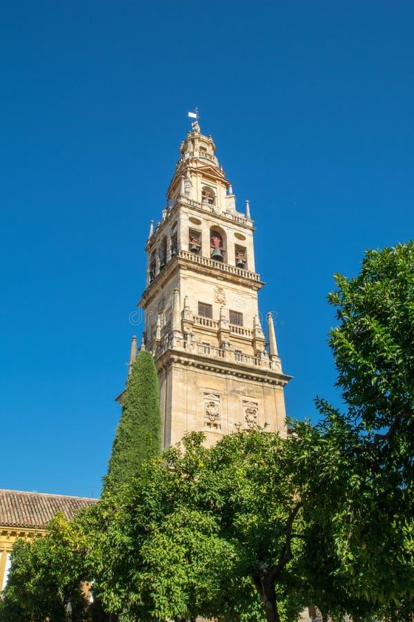 Torre de Bell em Córdova, Espanha imagem de stock royalty free