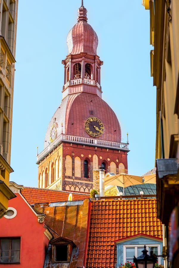 Torre de Bell em Riga fotos de stock royalty free