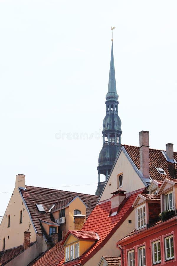 Torre de Bell em Riga imagens de stock