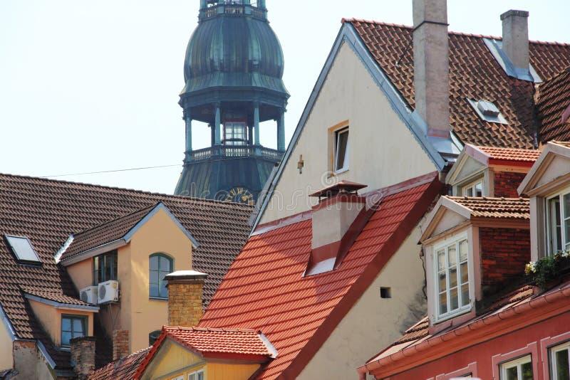 Torre de Bell em Riga imagem de stock royalty free