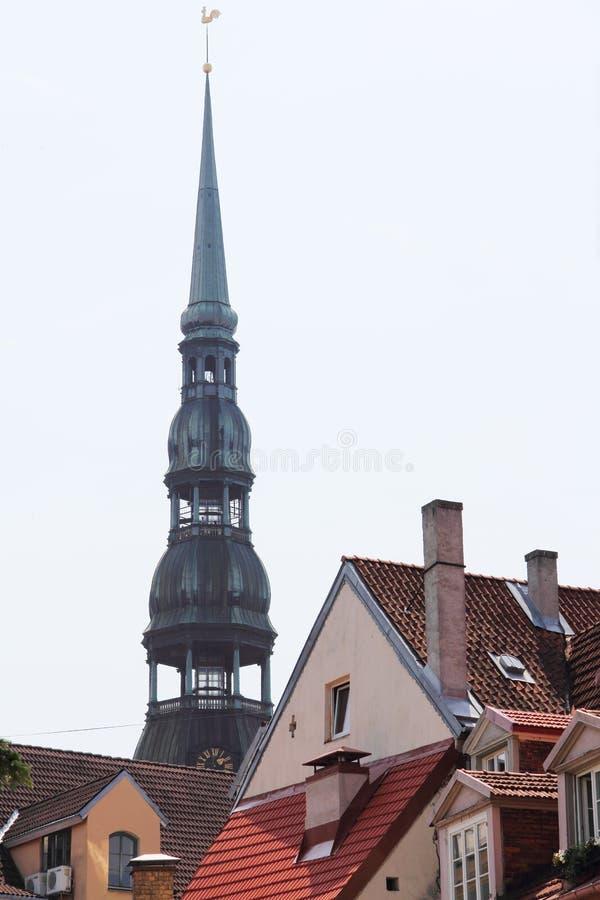 Torre de Bell em Riga fotografia de stock
