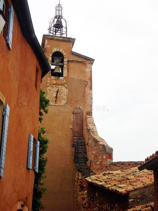 Torre de Bell em Roussillon fotografia de stock royalty free