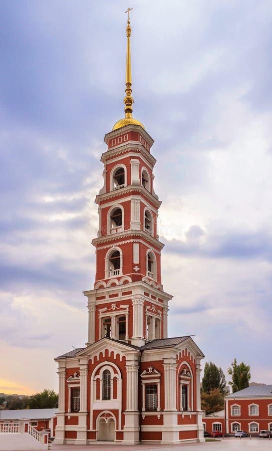 Torre de Bell em saratov foto de stock royalty free