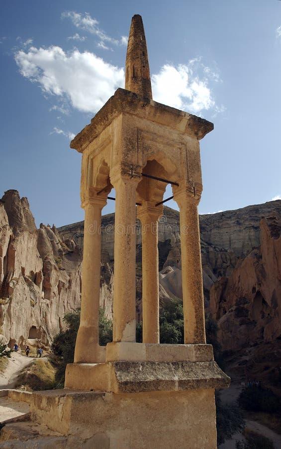 Torre de Bell en Cappadocia fotografía de archivo libre de regalías