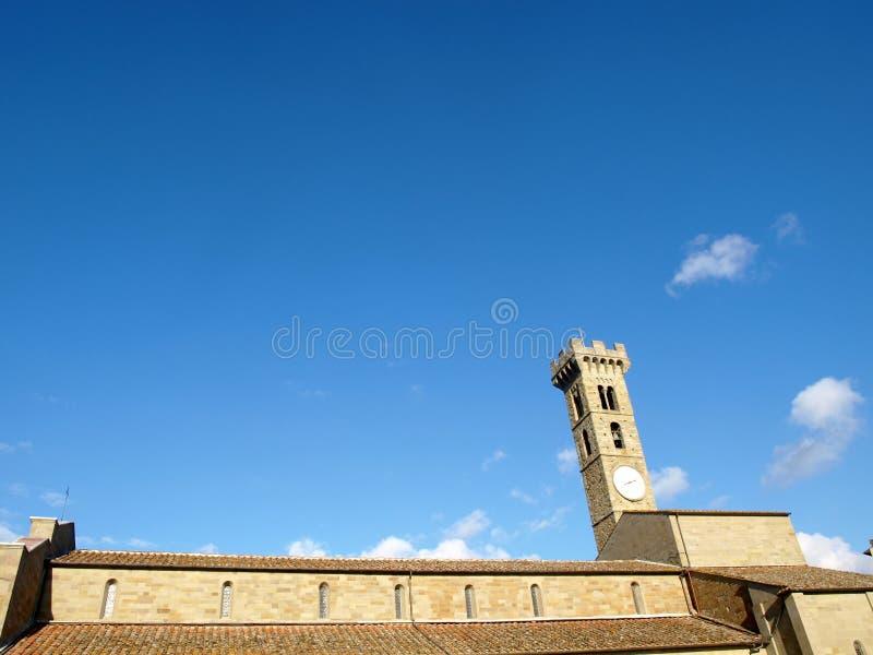 Torre de Bell en Fiesole fotografía de archivo