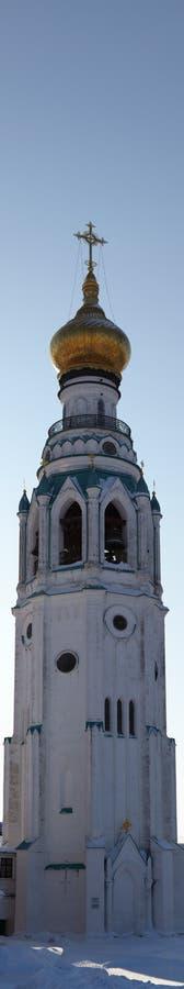 Torre de Bell en Vologda Kremlin, Rusia imagen de archivo libre de regalías