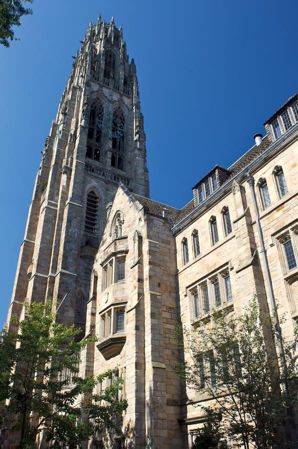 Torre de Bell, escuela de la liga de la hiedra foto de archivo