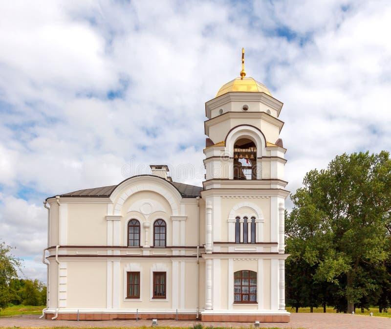 Torre de Bell na fortaleza de Bresta belarus fotografia de stock