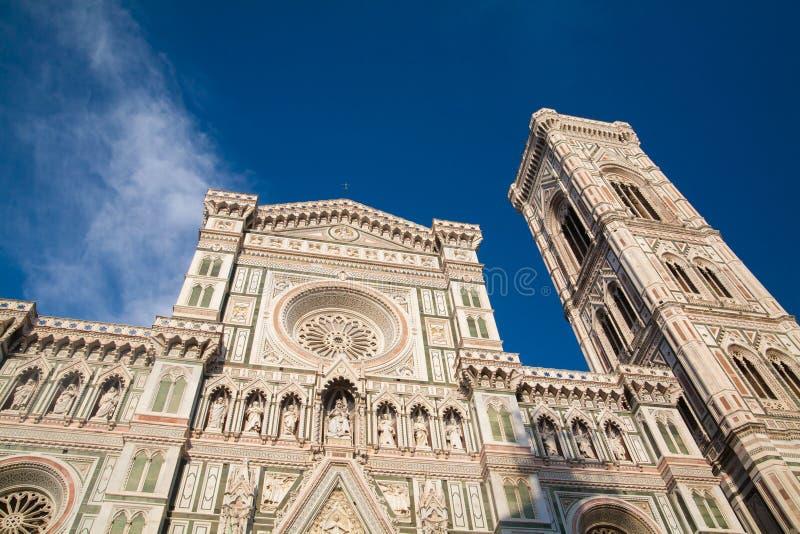 Torre de Bell para os di Santa Maria del Fiore da basílica imagem de stock royalty free