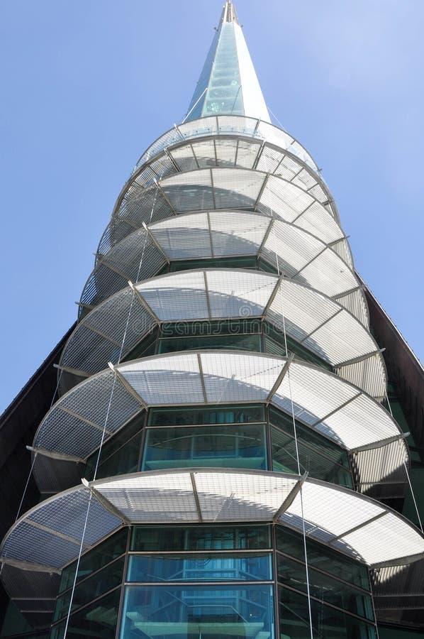 Torre de Bell: Perth, Austrália Ocidental fotos de stock royalty free
