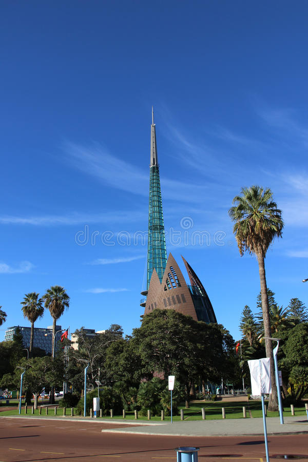 Torre de Bell Perth WA fotos de stock royalty free