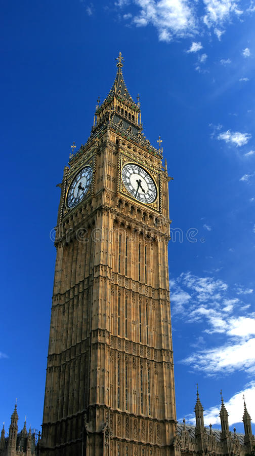 Torre de Ben grande (Londres, Inglaterra) fotografia de stock