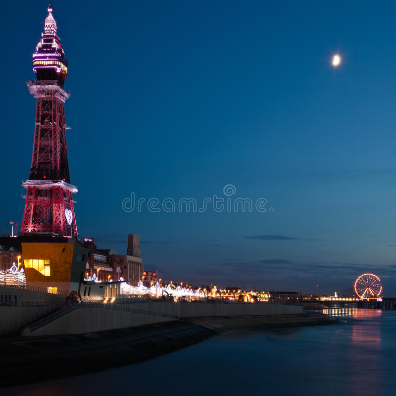 Torre de Blackpool fotos de stock royalty free