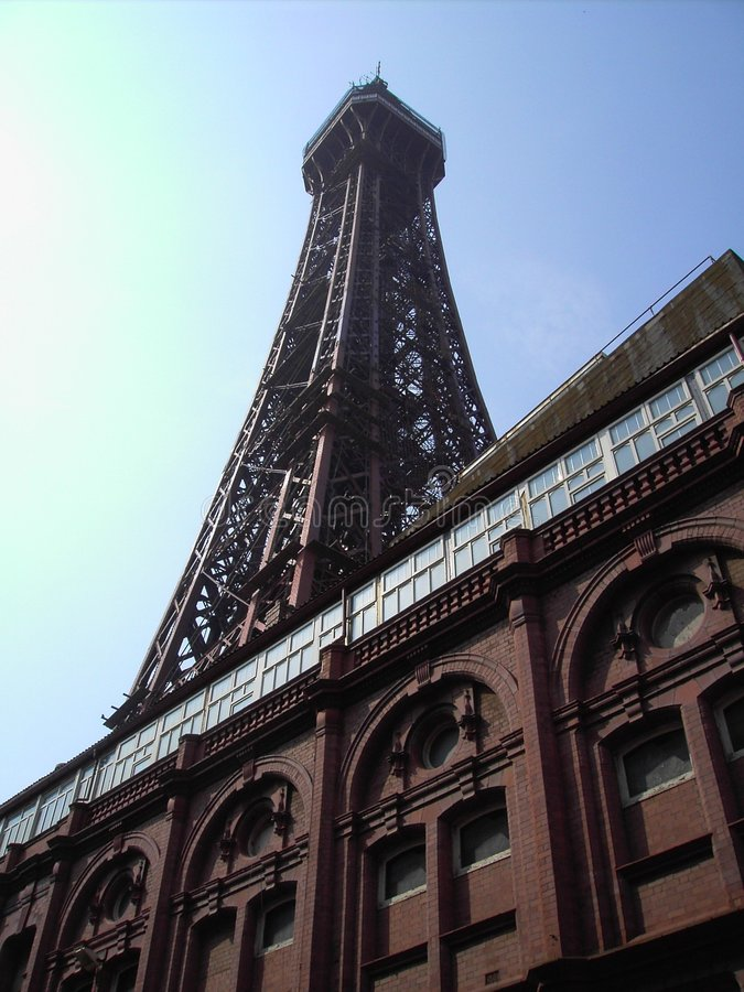 Torre de Blackpool foto de stock