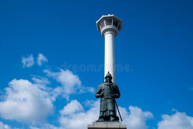 Torre de Busan foto de stock