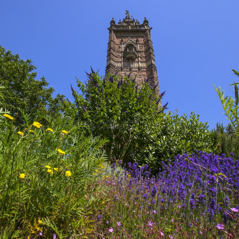 Torre de Cabot em Bristol imagem de stock royalty free