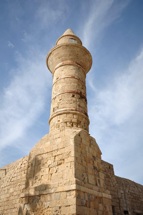 Torre de Caesaria imagenes de archivo