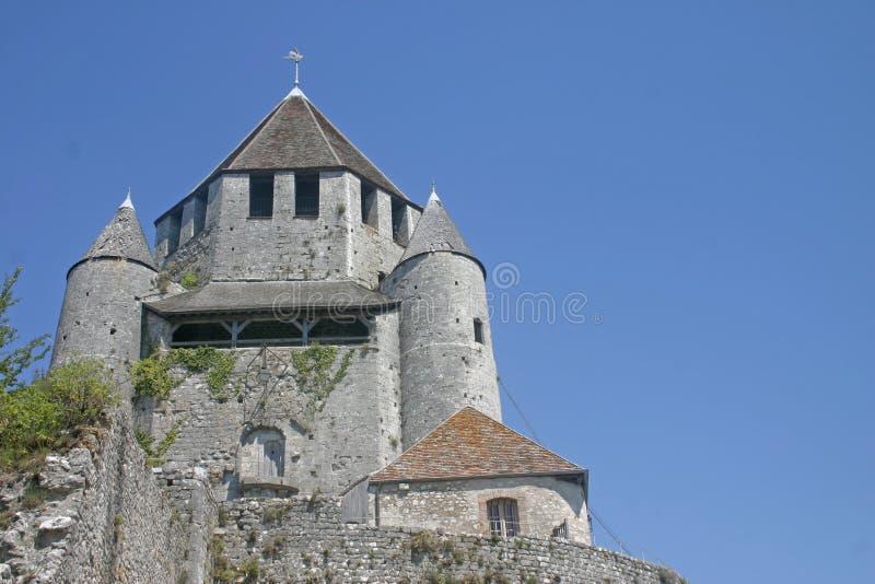 Torre De Caesars Em Provins France Foto de Stock