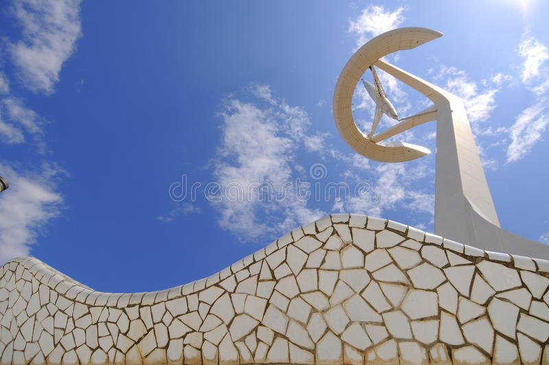 Torre de Calatrava, Barcelona-España fotos de archivo libres de regalías