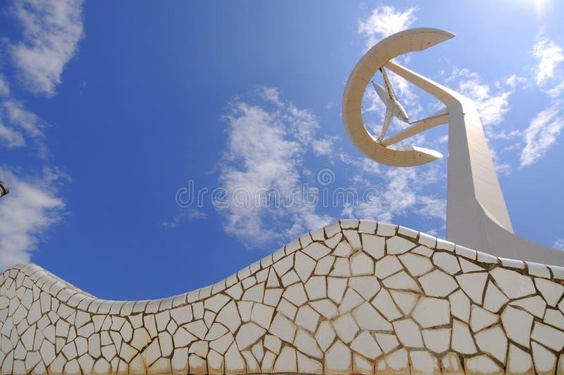 Torre de Calatrava, Barcelona-Spain fotos de stock royalty free