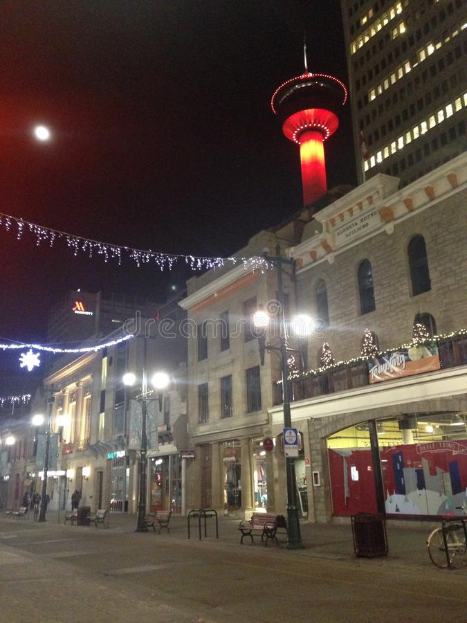 Torre de Calgary fotos de archivo