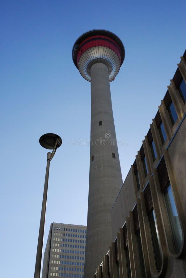 Torre de Calgary imagen de archivo