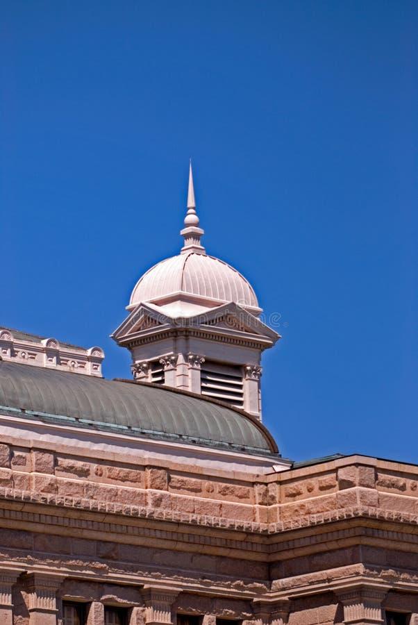 A torre de canto do capital de estado de Texas fotografia de stock