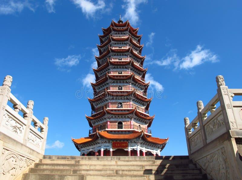 Torre de China imagem de stock royalty free