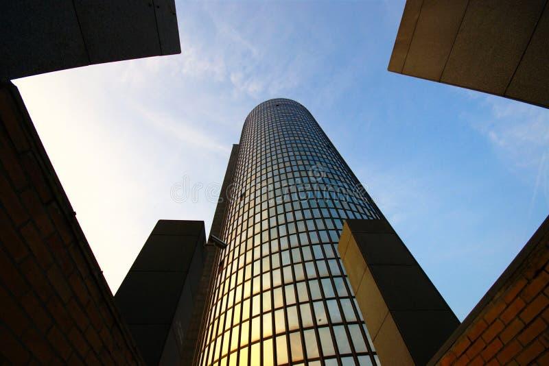 Torre de Cibona, Zagreb, Croácia fotos de stock