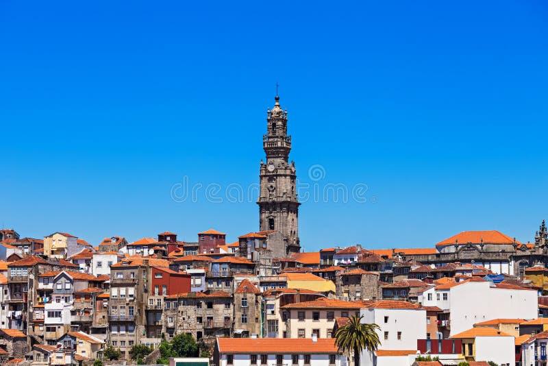 Torre de Clerigos, Oporto imagen de archivo libre de regalías