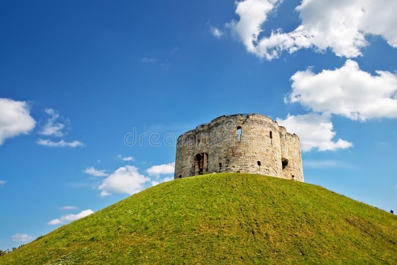 Torre de Clifford em York fotografia de stock royalty free