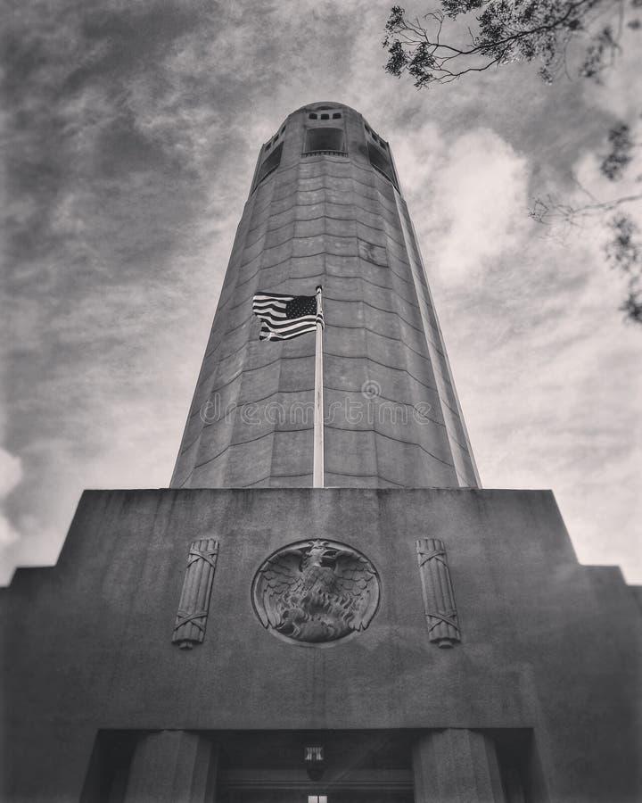 Torre de Coit imagen de archivo