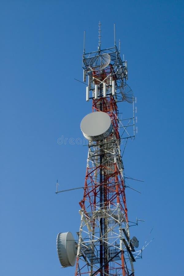 Torre de comunicación #2 fotos de archivo